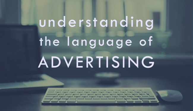 Skyscrapers to Banners – understanding the language of online advertising