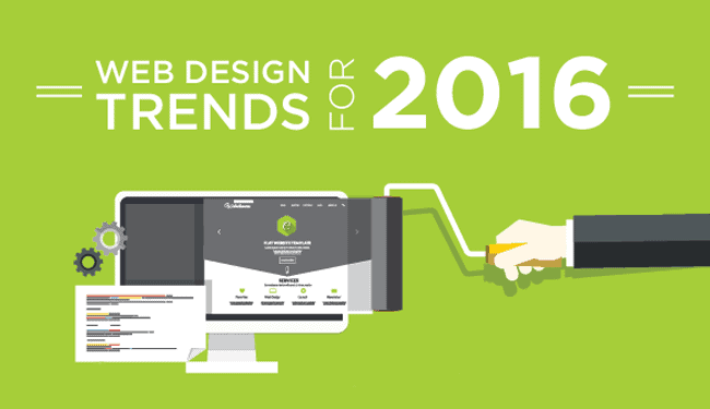 Web design predictions 2016