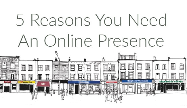 5 ways not having an online presence damages your business