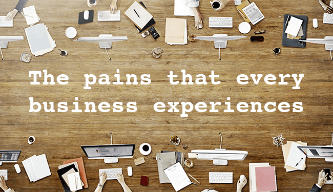 Growing pains – every business faces them!