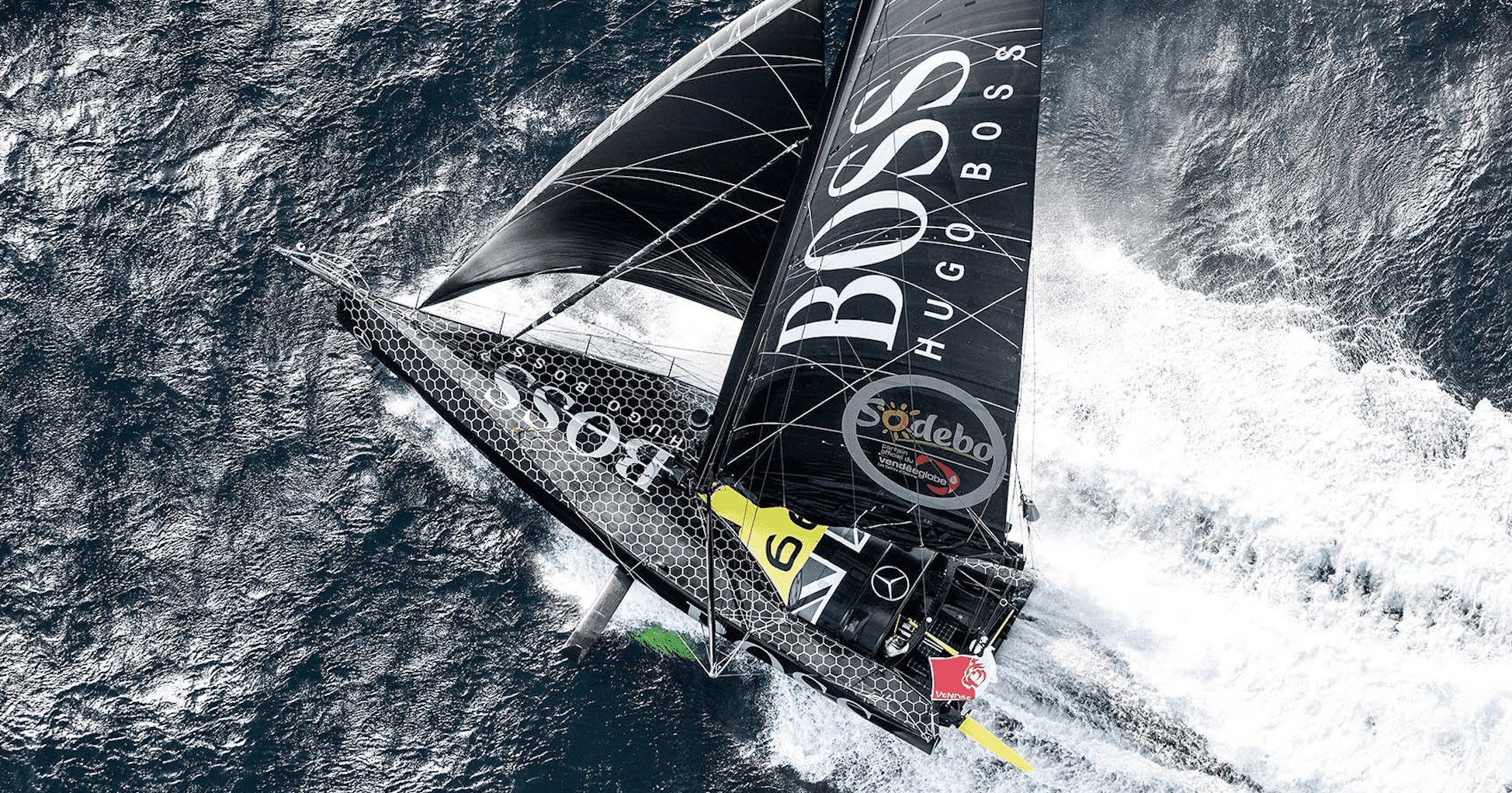 Track our client Alex Thomson's journey in the Vendée Globe!