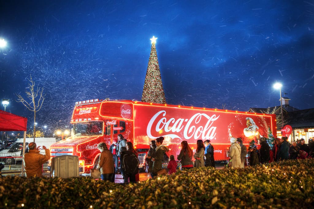 Festive campaigns that build up Christmas